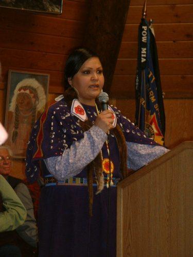 Endangered Nez Perce, a Native American Language