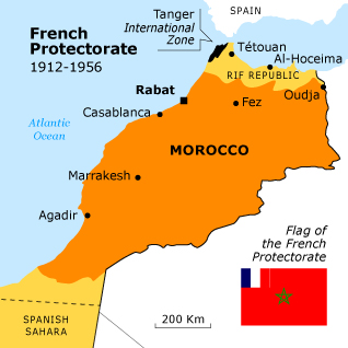 Languages In Spain Map.Languages Of Morocco French Morocco