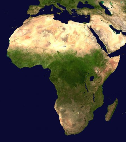 Africasatelliteorthographic 10 Most Common African Languages