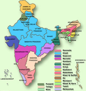 IndiaLanguageMap