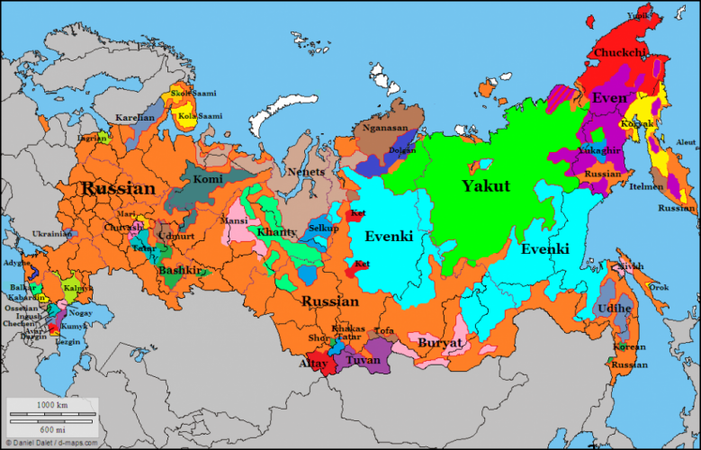 What Languages Are Spoken in Russia Besides Russian