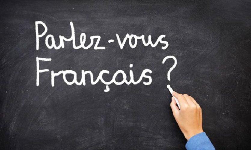 french chalkboard - parlez-vous francais