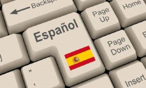 Spanish translation key