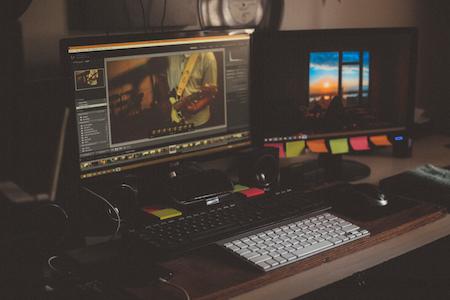 video graphics localization